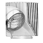 Headlight 7 Shower Curtain