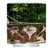 Heap Of History Shower Curtain