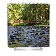 Hear The Rush Of Water II Shower Curtain