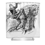 Hearst Cartoon Shower Curtain