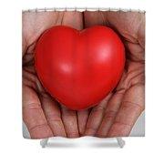 Heart Disease Prevention Shower Curtain