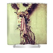 Heart Of Roots  Shower Curtain