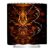 Heartbeat II Shower Curtain