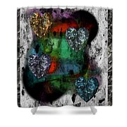 Heartistry Seven Shower Curtain