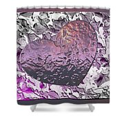 Heartistry Two Shower Curtain