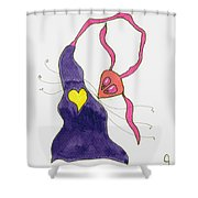 Heart's Delight Shower Curtain