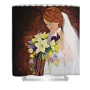 Heather's Special Day Shower Curtain