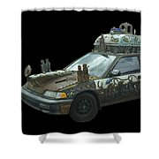 Heaven Or Hell Car Shower Curtain
