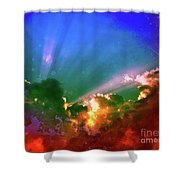Heaven's Jewels Shower Curtain by Kevyn Bashore