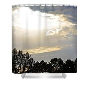 Heaven's Light 2 Shower Curtain