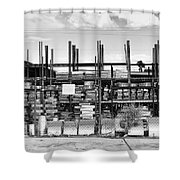 Heavy Metal Palm Springs  Shower Curtain