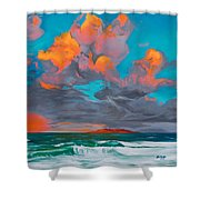 Hebridean Glory Shower Curtain
