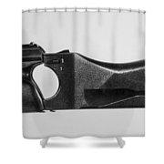 Heckler & Koch Pistol Shower Curtain