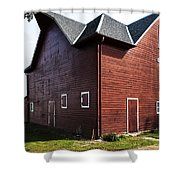 Heflin Barn Shower Curtain