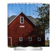 Heflin Barn Headon Shower Curtain