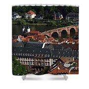 Heidelberg Germany Shower Curtain