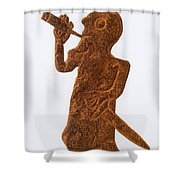 Heimdall, Norse God Shower Curtain