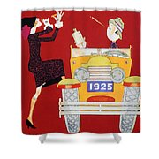 Held - Sheik And Sheba 1925 Shower Curtain