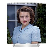 Helena Bonham Carter Shower Curtain