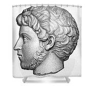 Heliogabalus (204-222) Shower Curtain