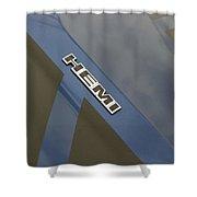 Hemi Emblem Shower Curtain