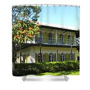 Hemingway's House Shower Curtain