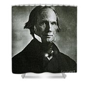 Henry Clay Sr., American Politician Shower Curtain