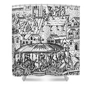 Henry Iv Of France Shower Curtain