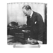 Henry Rowland, American Physicist Shower Curtain