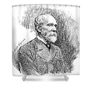 Henry Yule (1820-1880) Shower Curtain