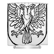 Heraldry: Birds Shower Curtain