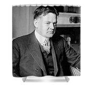 Herbert Clark Hoover Shower Curtain