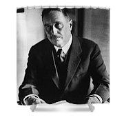 Herbert George Wells Shower Curtain