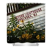 Hereford Lighthouse Lifeboat Shower Curtain