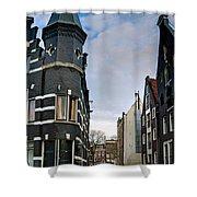 Herengracht 395. Amsterdam Shower Curtain