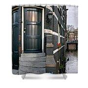Herengracht 395 Bis. Amsterdam Shower Curtain