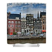 Herengracht 411. Amsterdam Shower Curtain