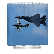 Heritage Flyby Shower Curtain