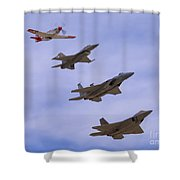 Heritage Stack Shower Curtain