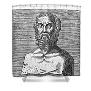 Herodotus Shower Curtain