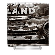 Hi-land  -bw Shower Curtain by Christopher Holmes