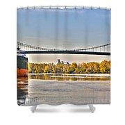Hi-level Bridge Shower Curtain