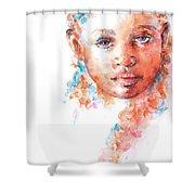 Hidden Tears Shower Curtain