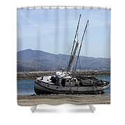 High And Mostly Dry Shower Curtain