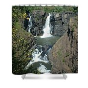 High Falls Grand Portage Shower Curtain
