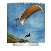 High Flyers Shower Curtain