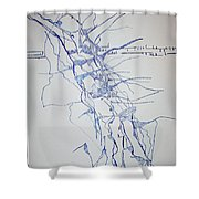 High Jump Shower Curtain