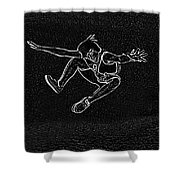 High Jump II Shower Curtain