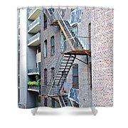 High Line Print 26 Shower Curtain