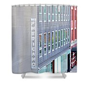 High Line Print 27 Shower Curtain